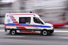 Pijana 11-latka straciła przytomność na ulicy.
