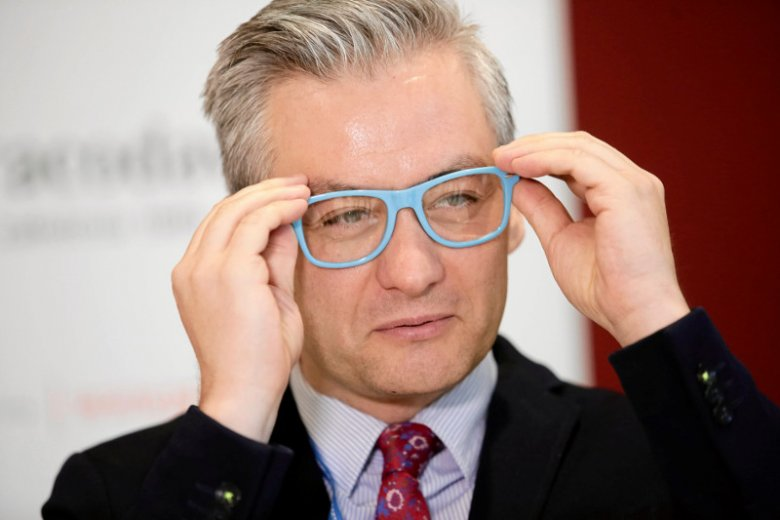 Robert Biedrońmówi o swojej wizji polityki krajowej w Polsce.