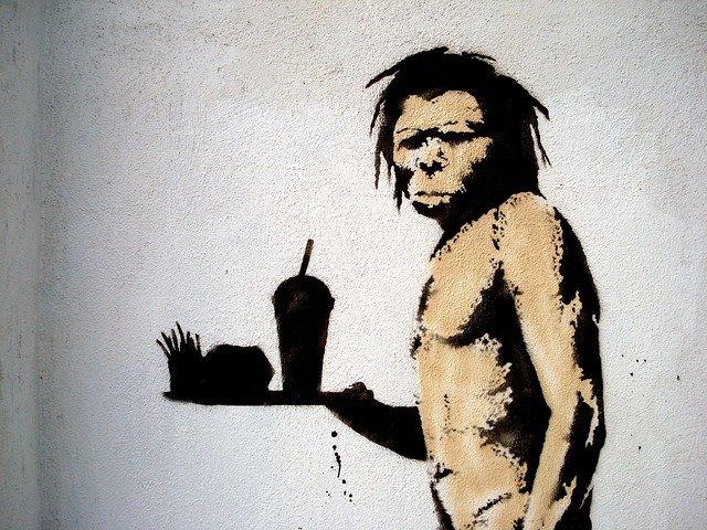 Paleo wg. Banksy'ego - może też działa? Fot. [url=http://bit.ly/1Ov3k0l]Lord Jim[/url] / [url=http://bit.ly/1mhaR6e]CC BY-SA 2.0[/url]
