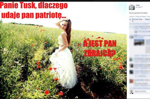"""17-letnia Maria Sokołowska zapytała premiera Donalda Tuska: """"dlaczego jest pan zdrajcą?"""""""