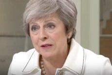"""Brytyjska premier Theresa May pisze """"list do narodu"""" w związku z umową o Brexicie."""