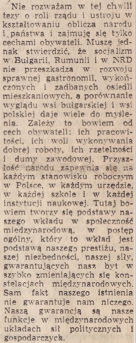 Autor artykułu zachęca Polaków do codziennego wysiłku dla dobra Polski.