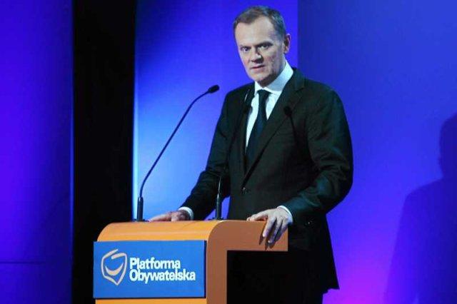 Premier Donald Tusk na Radzie Krajowej Platformy Obywatelskiej