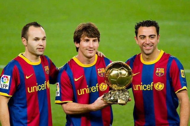 Xavi, Iniesta i Messi - to nie tylko wychowankowie Barcelony. To też jedni z najlepszych piłkarzy na świecie.