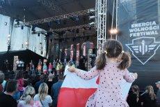 Na Festiwalu Energia Wolności nie dopisała publiczność. Sponsorami imprezy były Lotos i Energa.