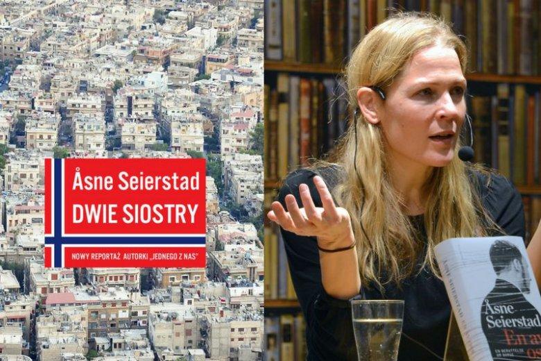 Książka ''Dwie Siostry'' w Polsce ukazała się nakładem Grupy Wydawniczej Foksal. Na zdjęciu norweska autorka Åsne Seierstad