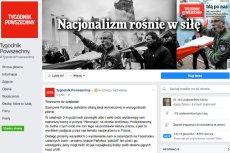 Dziennikarze tygodnika po ataku nacjonalistów musieli apelować o pomoc do internautów.