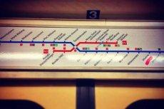 Nowe schematy w metrze warszawskim