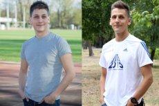 Po lewej: Krzysztof Majak w kwietniu 2014 - jeśli kupował adidasy, to najwyżej na rzepy. Po prawej: Krzysztof Majak we wrześniu 2015 - dumny posiadacz 13. pary butów do biegania - wszystkie wiązane