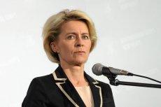 Niemka Ursula von der Leyen nową szefową KE.