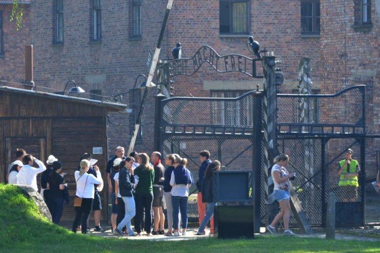 Skandal w Auschwitz.