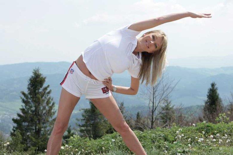Mariola Bojarska-Ferenc nie jest zwolenniczką katowania się na treningach