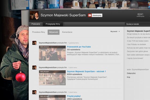 Kanał YouTube'owego programu Szymona Majewskiego.