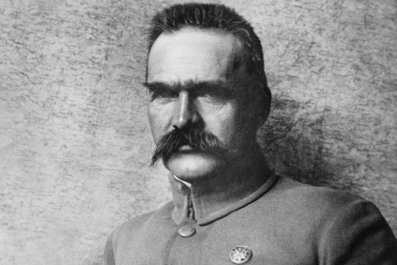 Józef Piłsudski - symbol polskiej niepodległości.