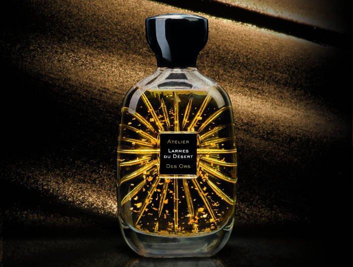 """W każdym flakonie Atelier Des Ors """"tańczą"""" płatki prawdziwego złota / perfumeriaquality.pl"""