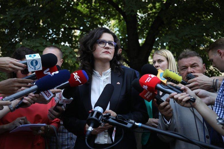 Aleksandra Dulkiewicz mocno skrytykowała działanie PiS ws. Westerplatte.