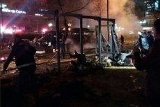 Wybuch samochodu-pułapki w centrum Ankary.