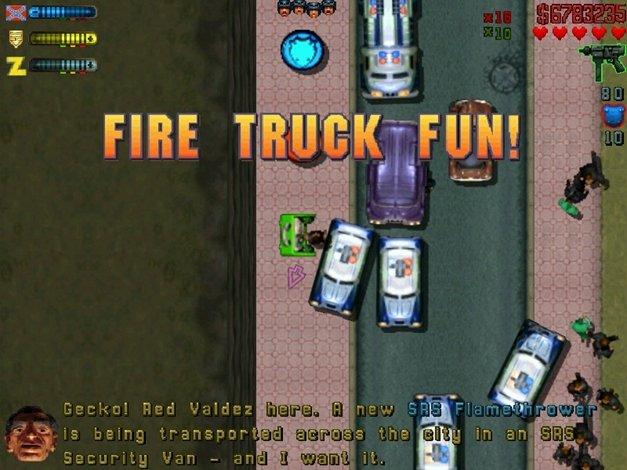 """""""Fire Truck Fun!"""" - brutalność w grach była, jest i będzie."""
