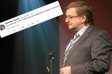 Stanisław Janecki nie popisał się swoim komentarzem w sprawie zbiórki do wirtualnej puszki Pawła Adamowicza.