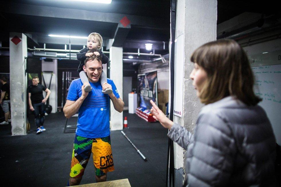Helena, Renata i ja w CrossFit Elektromoc.