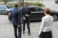 MSWiA potwierdziło stłuczkę, w której nie brał udziału premier.