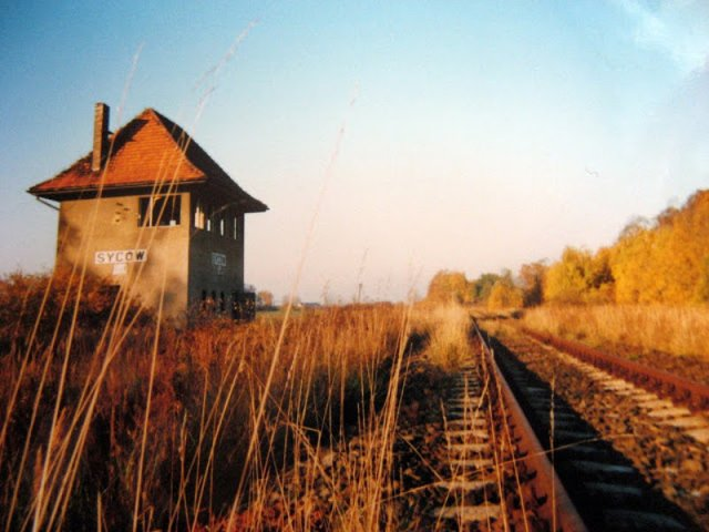 Opuszczona stacja Syców w województwie dolnośląskim.