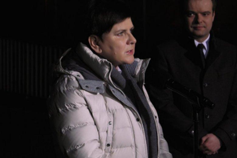 Premier Beata Szydło wyszła ze szpitala