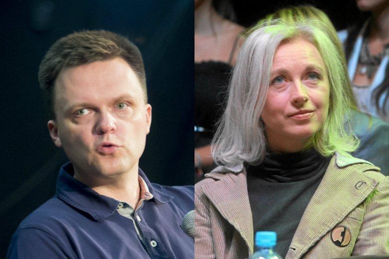 Szymon Hołownia odpowiedział Manueli Gretkowskiej po jej poście o tym, że Kościoła w Polsce nie da się uratować.