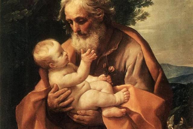Święty Józef z dzieciątkiem Jezus