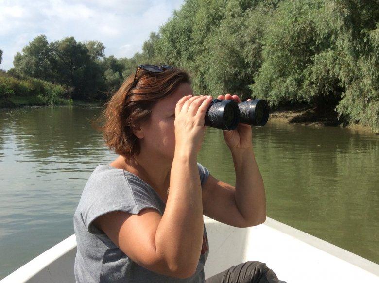 Oglądanie ptaków w Delcie Dunaju