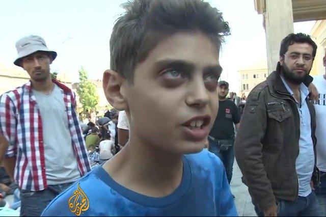 """Młody Syryjczyk z przesłaniem do całej Europy: """"Po prostu powstrzymajcie wojnę. My nie chcemy zostawać w Europie"""""""