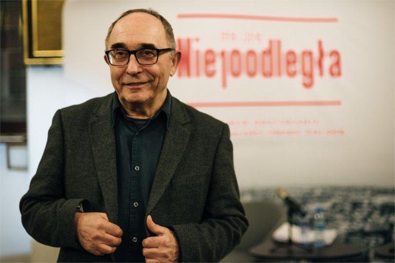 Aleksander Smolar - politolog, prezes Fundacji Batorego.