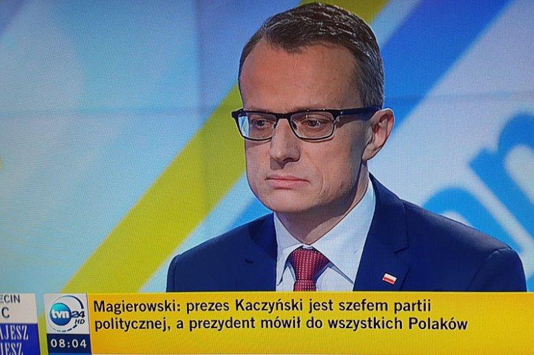 Rzecznik prezydenta Dudy: Nie ma sporu w rodzinie PiS. Agata Duda to nie Maria Kaczyńska