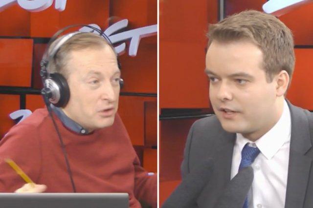 Mistrz jednego pytania. Rzecznik rządu przez kilka minut ignorował pytanie Konrada Piaseckiego