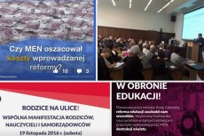 W sobotę planowana jest ogólnopolska manifestacja rodziców, nauczycieli, samorządowców przeciwko reformie edukacji.