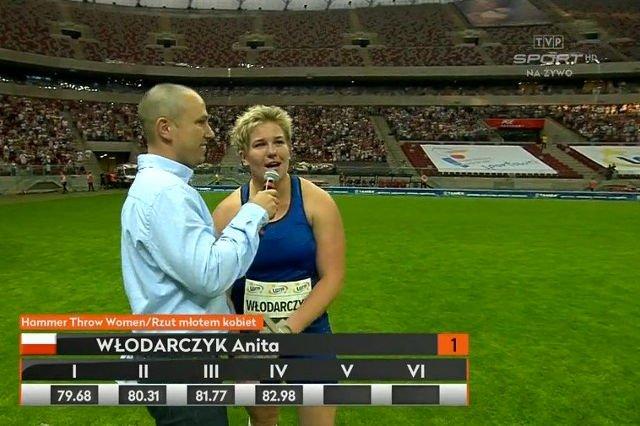 Anita Włodarczyk pobiła dziś rekord świata w rzucie młotem. Poprzednim cieszyła się tylko 13 dni.