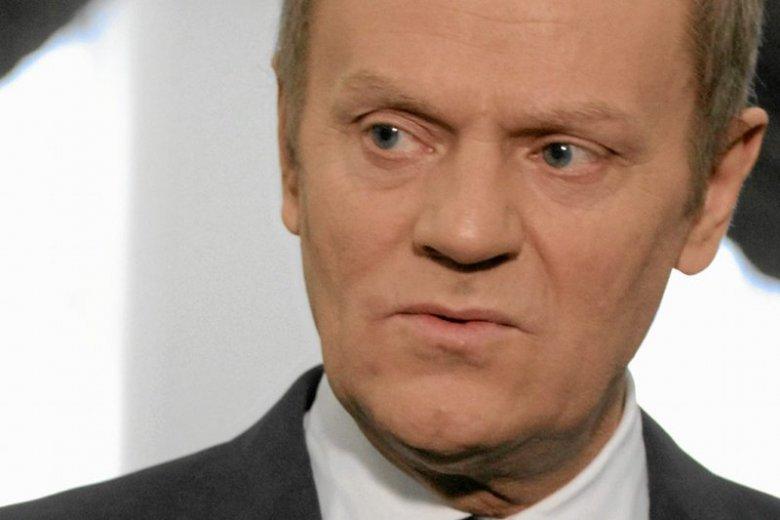 Donald Tusk ostro zareagował na karę dla Polski