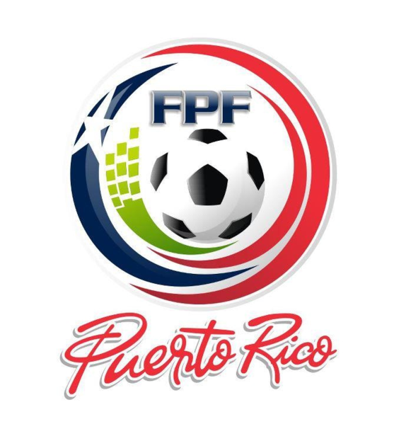 Efektowne logo piłkarskiego związku Portoryko