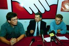 Jarosław Kaczyński i Paweł Rabiej (na zdjęciu z prawej) mieli przed laty wspólny cel.