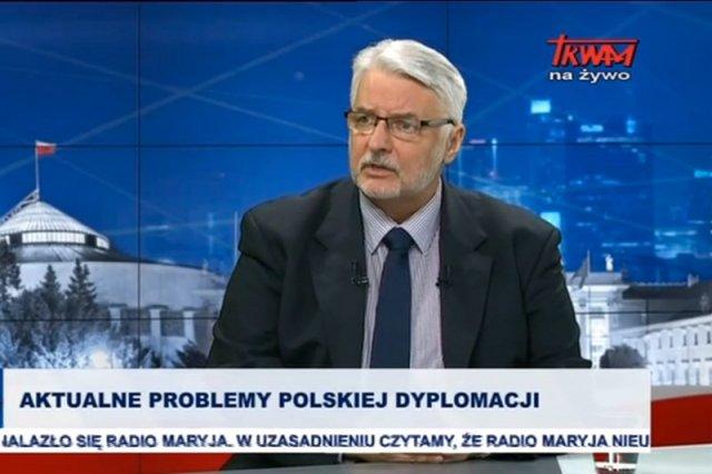 Minister Waszczykowski przyznał, że Viktor Orban, główny sojusznik zagraniczny PiS, jest skoncentrowany na swoich sprawach
