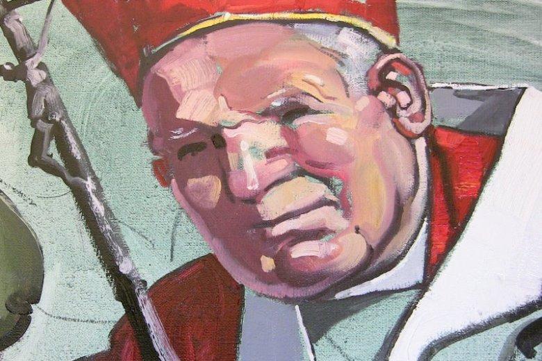 """– To jest autentyczny portret papieża w """"Bitwie"""" – mówią artyści."""