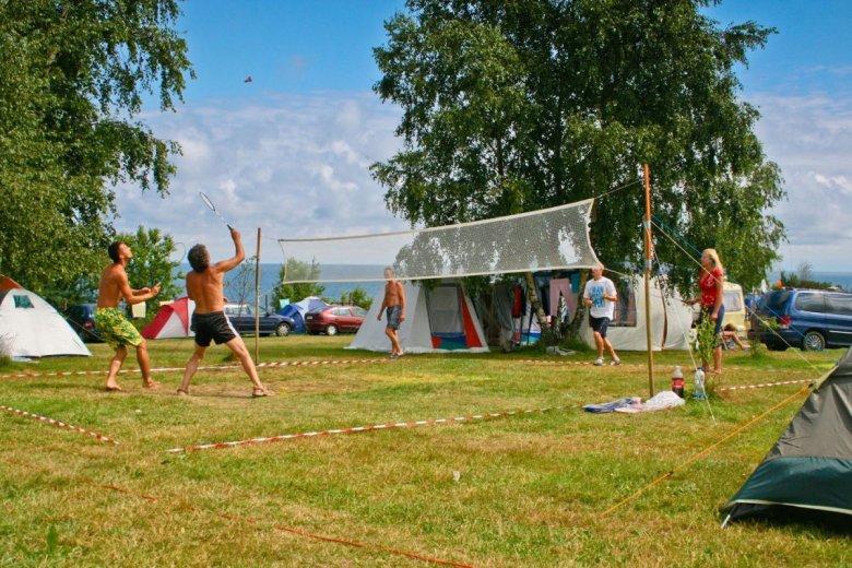 Pole namiotowe Lazurowe w Chłapowie