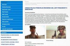 Thomas Wehking ścigany? Fake news o poszukiwanym amerykańskim żołnierzu rozchodzi  się z ogromną szybkością.