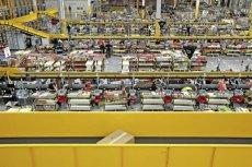 Centrum logistyczne Amazon w Sadach koło Poznania