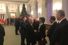 Jarosław Kaczyńskim pogratulował wszystkim starym-nowym ministrom.