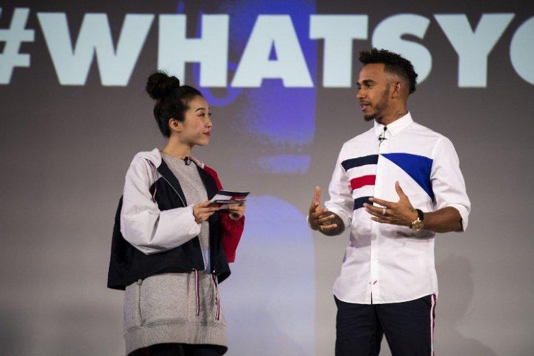"""""""Moje pragnienie zaprojektowania własnej kolekcji dojrzewało wraz z moim zamiłowaniem do mody"""" - powiedział Lewis Hamilton"""