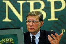 Leszek Balcerowicz, prezes NBP w latach 2001-2007