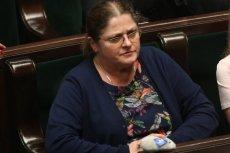 Krystyna Pawłowicz nie wstała dziś, gdy posłowie uczcili minutą ciszy zmarłego Piotra S.