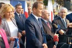 Prezentacja Piotra Bulskiego, kandydata PiS na burmistrza Włoszczowy, wzbudziła w internecie niemałe emocje.
