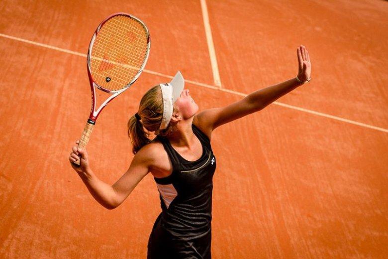 Podczas tegorocznego French Open Magdalena Fręch wygrała swój pierwszy mecz na turnieju wielkiego szlema.